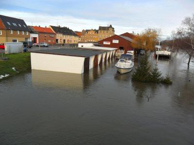 Fotoalbum Hochwasserstand am 12.01.2011