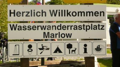 Fotoalbum Wasserwanderrastplatz Marlow