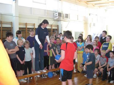 Fotoalbum Fitnesstest Grundschule Werbig