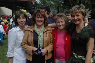 Fotoalbum Tour de Prignitz 2011 - 2. Etappe - Bühne in Meyenburg