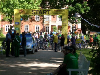 Fotoalbum Tour de Prignitz 2011 - 3. Etappe Start
