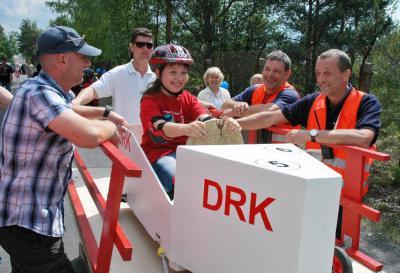 Fotoalbum Seifenkistenrennen zum Kinder- und Schulfest der Berg - Grundschule