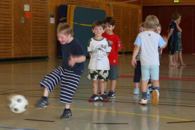 Fotoalbum Training bei der Ballschule Birkenau