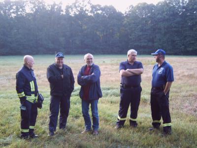 Fotoalbum Übung Waldbrandbekämpfung