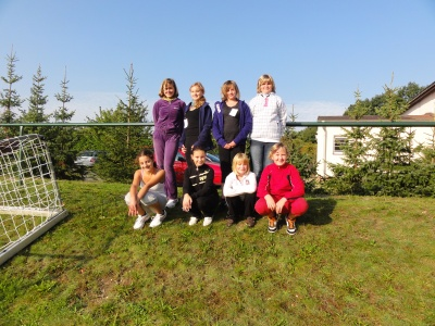 Fotoalbum Herbstcross 2011 an der Goethe-Grundschule-Hohenleipisch