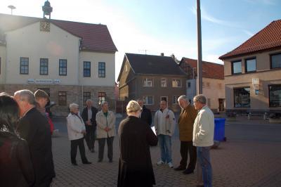 Fotoalbum Kreisbereisung des Landrates des Kyffhäuserkreises in der Stadt Clingen