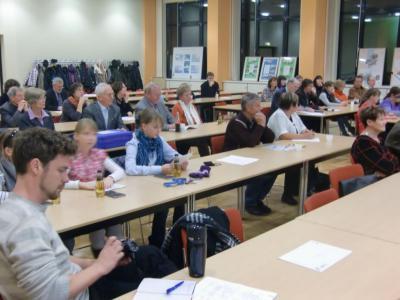 """Fotoalbum Forum der Lokalen Agenda 21 im Landkreis Oberhavel und in Oranienburg -  Präsentation der Ergebnisse 2011 des Schülernetzwerks """"Obere Havel"""""""
