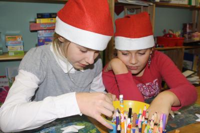 Fotoalbum Weihnachtskonzert und Weihnachtsmarkt an der Oberschule mit Grundschulteil Glöwen
