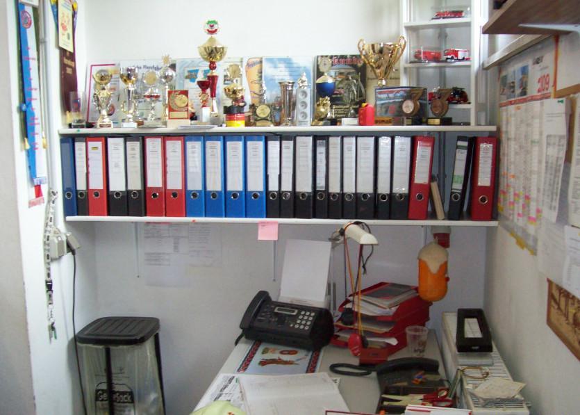 Büro des Ortswehrführers der FF Worin