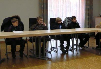 Fotoalbum Rathausbesuch der 4. Klassen am 06.02.2012