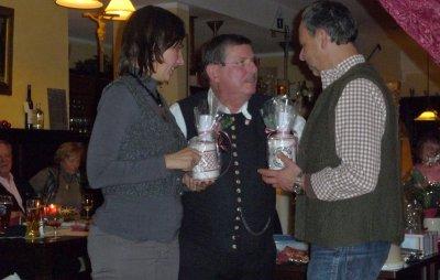 Fotoalbum Weihnachtsfeier 2011 mit Mitgliederehrung