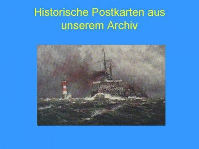 Fotoalbum Historische Postkarten