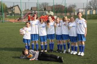 Fotoalbum Sportvergleich mit unserer polnischen Partnerschule in Kostzyn