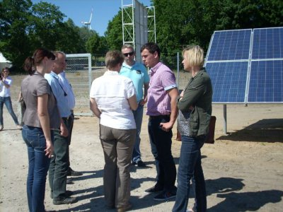 Fotoalbum Eröffnung Solarpark Rapshagen