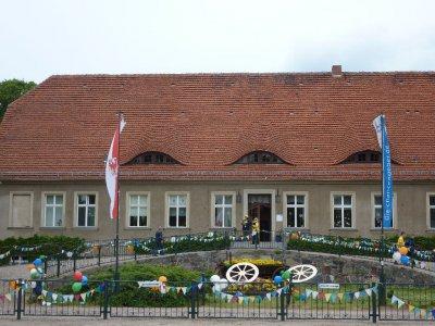 Fotoalbum Hoppenrade begrüßt die Radler der Tour de Prignitz mit einem bunten Programm