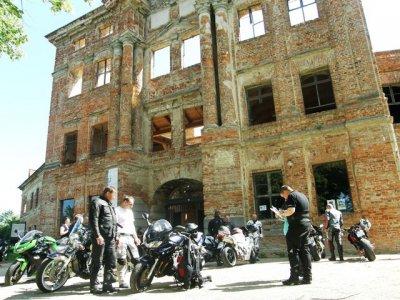 Fotoalbum Biker-Tourismus an der Dahmer Schlossruine