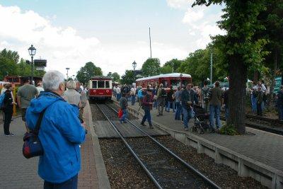 Fotoalbum 125 Jahre Harzer Schmalspurbahnen - großes Bahnhofsfest in Wernigerode
