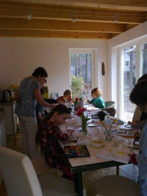Fotoalbum Unser Kunstprojekt bei Frau Gröling