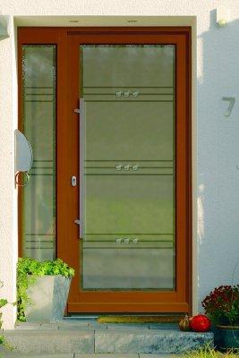 Fotoalbum Haustüren mit Ganzglas-Füllung