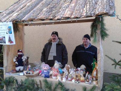 Fotoalbum Beteiligung am Weihnachtsmarkt in Toszek 2011