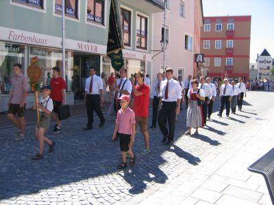 Fotoalbum Dorfener Schützenumzug 2012