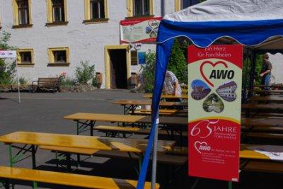 Fotoalbum 65 Jahre AWO Forchheim - Hof-Fest