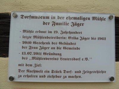 Fotoalbum Mühle Leutersdorf
