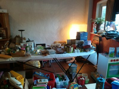 Fotoalbum Flohmarktstand der SteP
