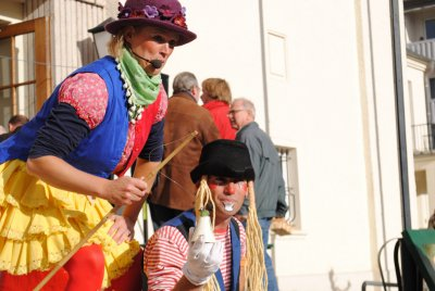 Fotoalbum Tacki & Noisly beim 2. Apfelmarkt Wittenberge 2012