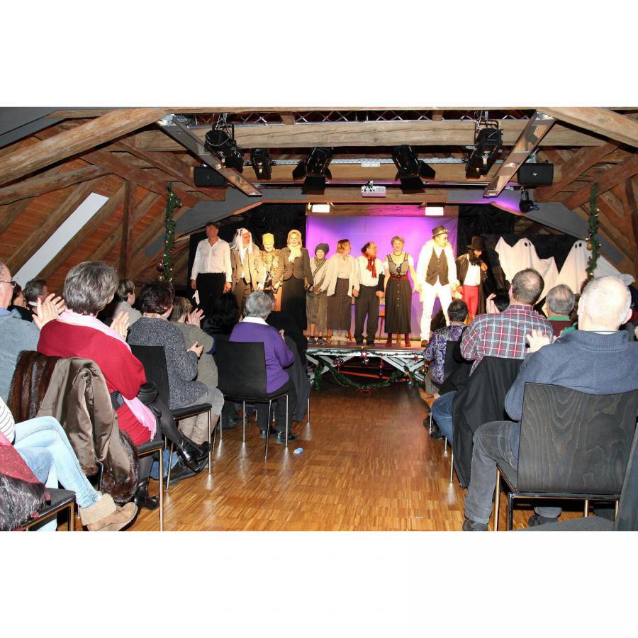 Kulturverein Hüttisheim e.V. - Schwäbische Weihnachtsgeister
