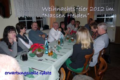 Fotoalbum Weihnachtsfeier bei Blau-Weiss