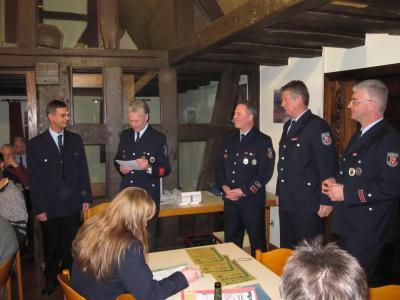 Fotoalbum Jahreshauptversammlung Freiwillige Feuerwehr