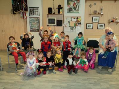 Fotoalbum Fasching im Kindergarten