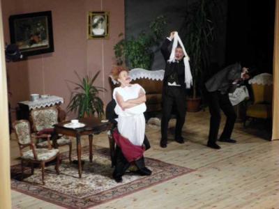 """Foto des Albums: Theateraufführung """" Raub der Sabinerinnen """" (03.11.2012)"""