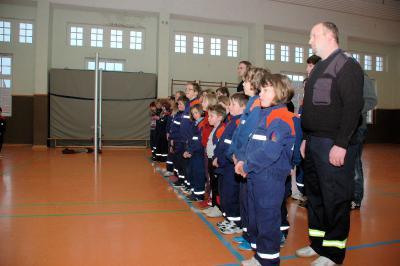 Fotoalbum Hallenwettkampf der Jugendfeuerwehren