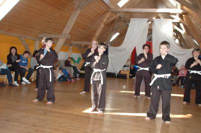 Fotoalbum Karateprüfungen