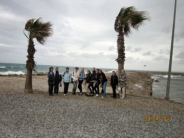 Foto des Albums: Abschlussfahrt 2013 Klasse 10 (12.04.2013)
