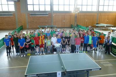Fotoalbum Tischtennis Minimeisterschaft Bezirkentscheid 2013