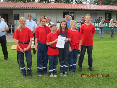 Foto des Albums: Verbandsbereichsmeisterschaften der JfW in Lietzen am 08.06.13  80Fotos (09.06.2013)