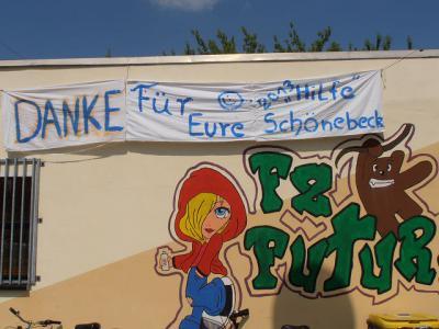 Fotoalbum Hochwasser 2013 - Ausnahmezustand in den Jugendclubs - Danke an die jungen Helfer