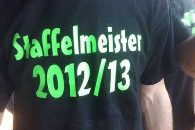 Fotoalbum 1. Herren ist Staffelmeister 2012/2013