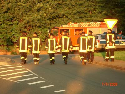 Fotoalbum Feuerwehrmarsch 2008