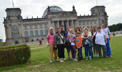 """Fotoalbum Jugendliche des FZ """"Future"""" zu Besuch im Deutschen Bundestag"""
