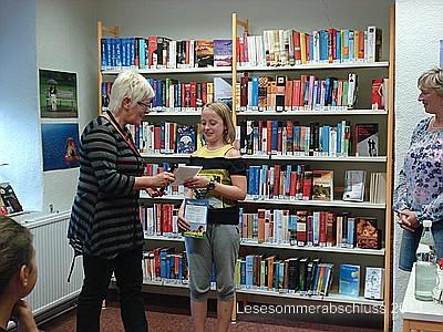 Fotoalbum Lesesommer-Abschlussveranstaltung 2013
