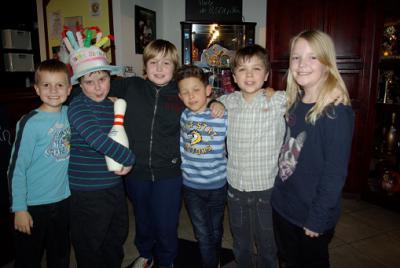 Fotoalbum Kindergeburtstagsparty-Bilder Dezember 2013
