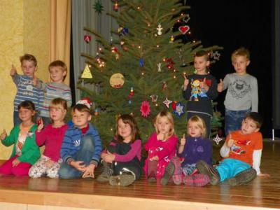 Foto des Albums: Weihnachtsbaumschmücken (28.11.2013)