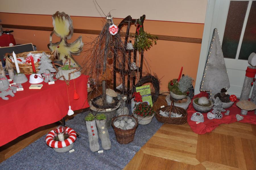 Beton dekoration weihnachtsmarkt der stadt lebus for Beton dekoration