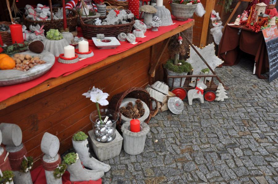 Amt lebus weihnachtsmarkt der stadt seelow - Beton dekoration ...