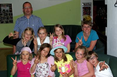 Fotoalbum Kindergeburtstagsparty-Bilder Juni 2014