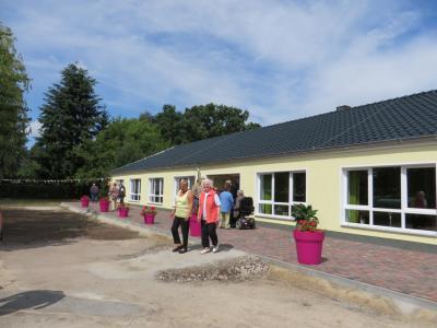 Fotoalbum Eröffnung Tagespflege in Glöwen